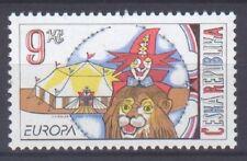 CZECH REPUBLIC, EUROPA CEPT 2002, CIRCUS, MNH