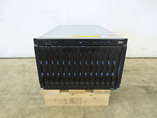 IBM Bladecenter Rack E 8677 14x IBM Blade HS21 8853 JE 2x Quad-Core XEON 36GB