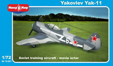 Micro Mir 1/72 Model Kit 72-007 Yakovlev Yak-11 Moose single seat
