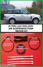 Range Rover L322 Suspension Air Pompe Compresseur Piston Ring & Seal Kit refurb