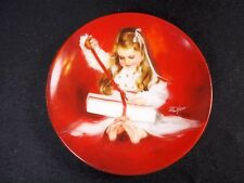 """Porcelain plate Best of Zolan in Miniature A gift for Laurie P&O 1987 3.25"""""""