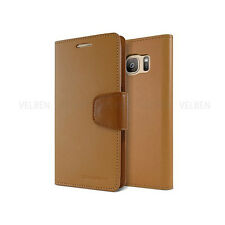 Double Card Flip Pocket Wallet Leather Book Case Cover For iPhone Galaxy LG