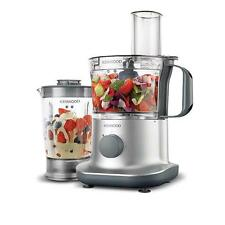 Kenwood FPP225 Compact Food Processor Blender Stainless Blades - Polished Chrome