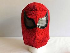 Spiderman Red & Black WEB NEW Lucha Libre Pro Wrestling MASK Costume Mexico wwe