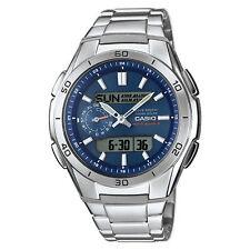 Casio Herren-Armbanduhr Analog/Digital Edelstahl Blau Sport WVA-M650D-2AER NEU