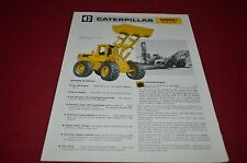 Caterpillar 966C Wheel Loader Dealer's Brochure DCPA6 ver2