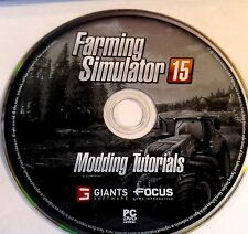 FARMING SIMULATOR 15 MODDING TUTORIALS (PC GAME) (DISC ONLY) 3558