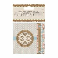 PACK 5 PAPERMANIA CRAFT COLLECTION MEMORY POCKETS - PASTELS