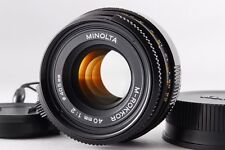 MINT MINOLTA M-ROKKOR 40mm f2 Lens Leica M mount for CLE CL from Japan a408