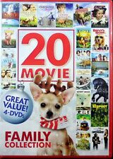 Family Collection NEW 4 DVD Set 20 different Movies Over 28 hours entertainment