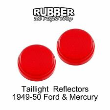 1949 1950 Ford & Mercury Taillight Reflector Pair
