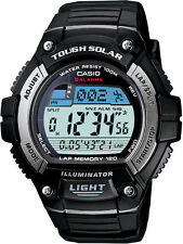CASIO MEN'S WS220-1A TOUGH SOLAR DIGITAL WATCH