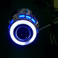 "NEW 2.5"" Car Motorcycle Headlights LED BI-XENON Projector Robot Eye WB"