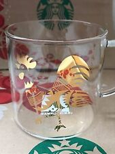 NEW Starbucks 2017 Chinese Lunar New Year ROOSTER GOLD  Mug