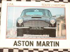 livre ASTON-MARTIN TOUTE L'HISTOIRE /  NOMBREUSES PHOTOS / francais