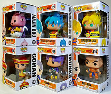 FUNKO POP Dragon Ball Z Set of 6 w/ Exclusives Pop! Animation Vinyl Figures