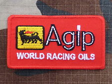 ECUSSON PATCH THERMOCOLLANT aufnaher toppa AGIP superbike motogp course moto