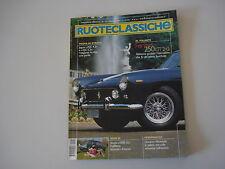 RUOTECLASSICHE 5/2001 FERRARI 250/JAGUAR XJC/FIAT 130/SIMCA 1000 GL/PEUGEOT 301