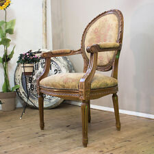 FLOWERY VINTAGE MID CENTURY MODERN CHIPPENDALE CHAIR STUHL SESSEL PANTON ÈRE