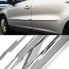 Chrome Side Skirt Door Line Sill Garnish Molding 4Pcs for NISSAN 2014-2016 Rogue