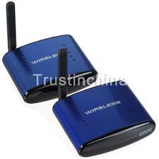 Wireless AV Transmitter System 200m 5,8G Funk AV 3RCA HD TV mit IR Extender 530