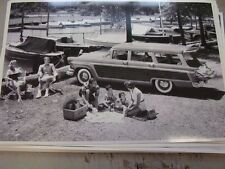 1956 FORD SQUIRE STATION WAGON  12 X 18 LARGE PICTURE   PHOTO
