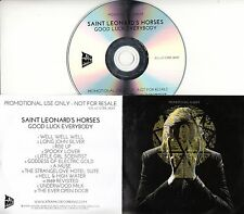 SAINT LEONARD'S HORSES Good Luck Everybody 2016 UK 12-trk promo test CD