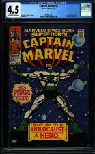 Captain Marvel 1 CGC 4.5 Siver Age Marvel Key Comic 1st issue of title IGKC L@@K