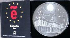 Año 1995. 2000 Pesetas Plata. Peso 18.20 gr. Cartera oficial Numerada FNMT.