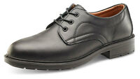 Mens Premium Managers Leather Steel Toe Cap Safety Work Brogues Office Shoes