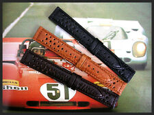 20mm Tan Rally GT Sport Racing Tropic Buffalo calf watch band IW SUISSE18 19 22