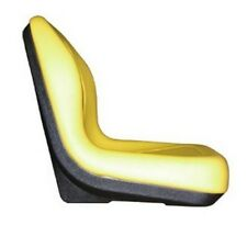 New High Back Style Yellow John Deere Compact Tractor Seat Models 4200 - 4710