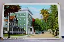 Pennsylvania PA Wilkes Barre Mercy Hospital Postcard Old Vintage Card View Post