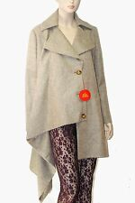 £1,100 Vivienne Westwood Red Label sz 6 Women Military Coating Blanket Kaban NWT