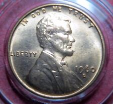 "ERROR COIN,  1960-D  LINCOLN CENT, DOUBLE DIE ERRORS, Filled ""6"" and ""R"" COIN #2"
