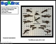 X15 Lot Custom Blasters Blaster Weapon PACK for Star Wars Lego Minifigures #21