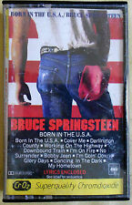 Bruce Springsteen ‎Born In The U.S.A Cassette Made in Australia PC 8008