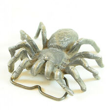Vinegarroon Tarantula Spider Pewter Belt Buckle