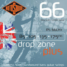 Rotosound RS66LH+ Drop Zone Plus Stainless Steel Electric Bass Strings