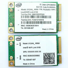 Intel 5100 WIFI 512AN_MMW 300Mbps Mini PCI-E Wireless WLAN Card 2.4/5GHz Module