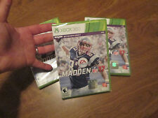Madden NFL 17  Xbox 360 2016 BRANS NEW FACTORY SEALED SPORT FOOTBALL
