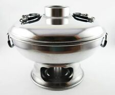 Shabu Hot Pot Thai Tomyum Coconut Soup Stainless Steel Dish Bowl Asian Cookware