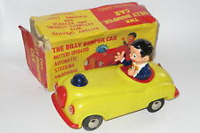 Vintage clifford series billy pare-chocs voiture rare plastique bo toy boxed
