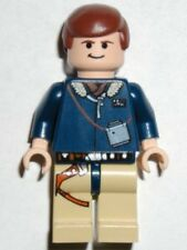LEGO 4504 - STAR WARS - Han Solo (Reddish Brown Hair) - MINI FIG / MINI FIGURE