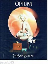 PUBLICITE ADVERTISING 116  2006  Yves Saint Laurent parfum femme Opium