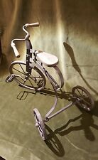 Antique / Vintage Toy Tricycle. Iron and wood.