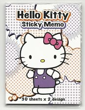 Sanrio Hello Kitty Sticky Notes Memos Book