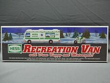 HESS RECREATION VAN, DUNE BUGGY, MOTORCYCLE, 1998, NIB