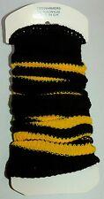 FLIRT Ladies Girls Bumble Bee Leg Warmers by Flirt Deluxe C035.T Fancy Dress 80s