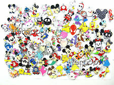 200 pcs Popular Cartoon Characters Metal Charms pendants DIY Jewellery Making